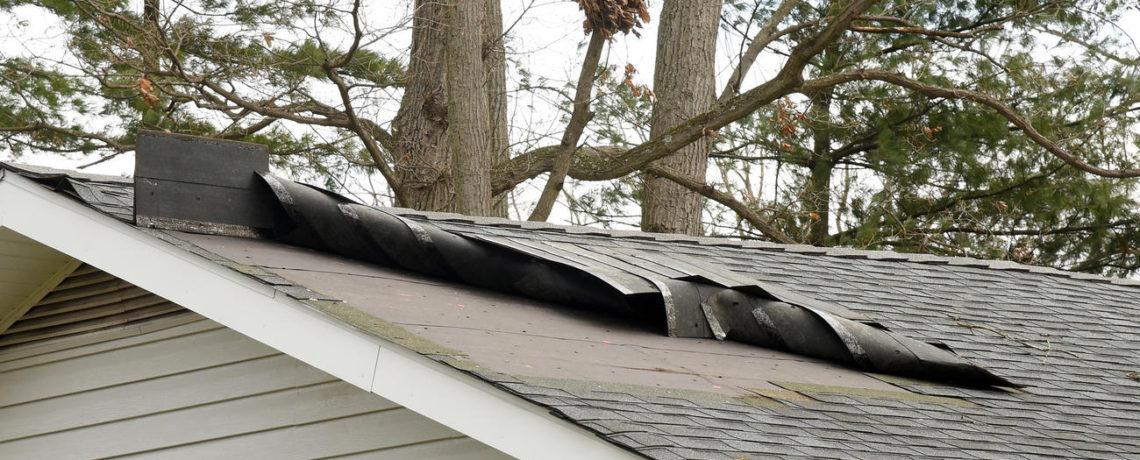 Modern remodeling wind damage