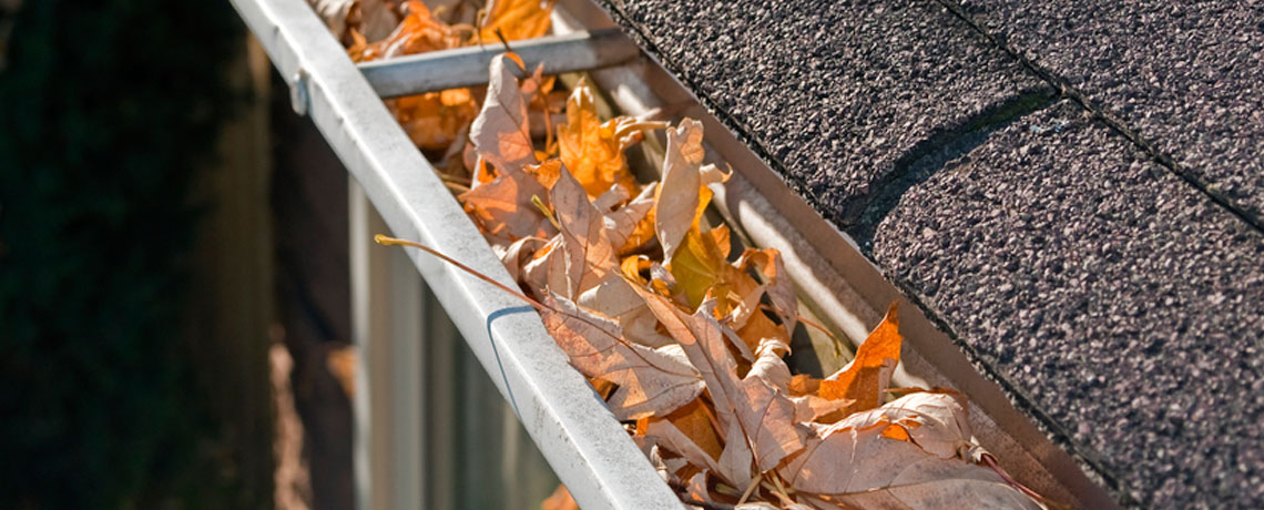 Make sure to inspect your gutters periodically