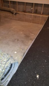 Basement mitigation by Modern Remodeling